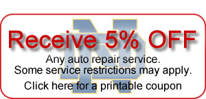 Auto repair coupon 1